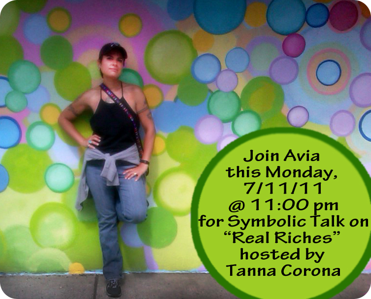 Avia V. - Guest Speaker for Real Riches by Tanna Corona