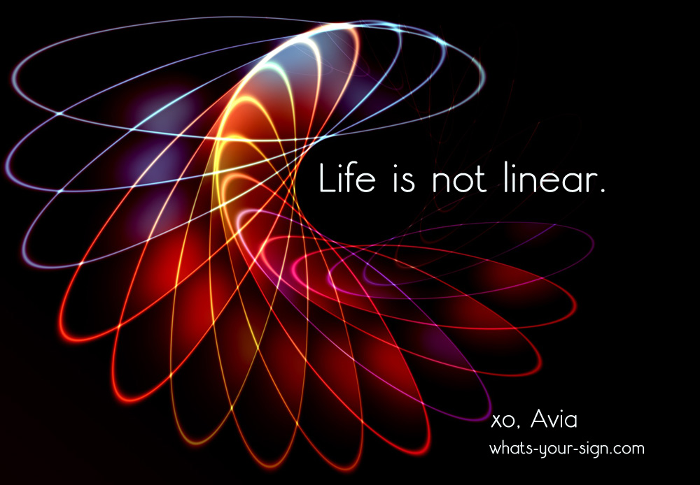 symbolic meaning of life is not linear